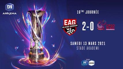 EA Guingamp - GPSO Issy (2-0)   J16 - D1 Arkema : le résumé du match