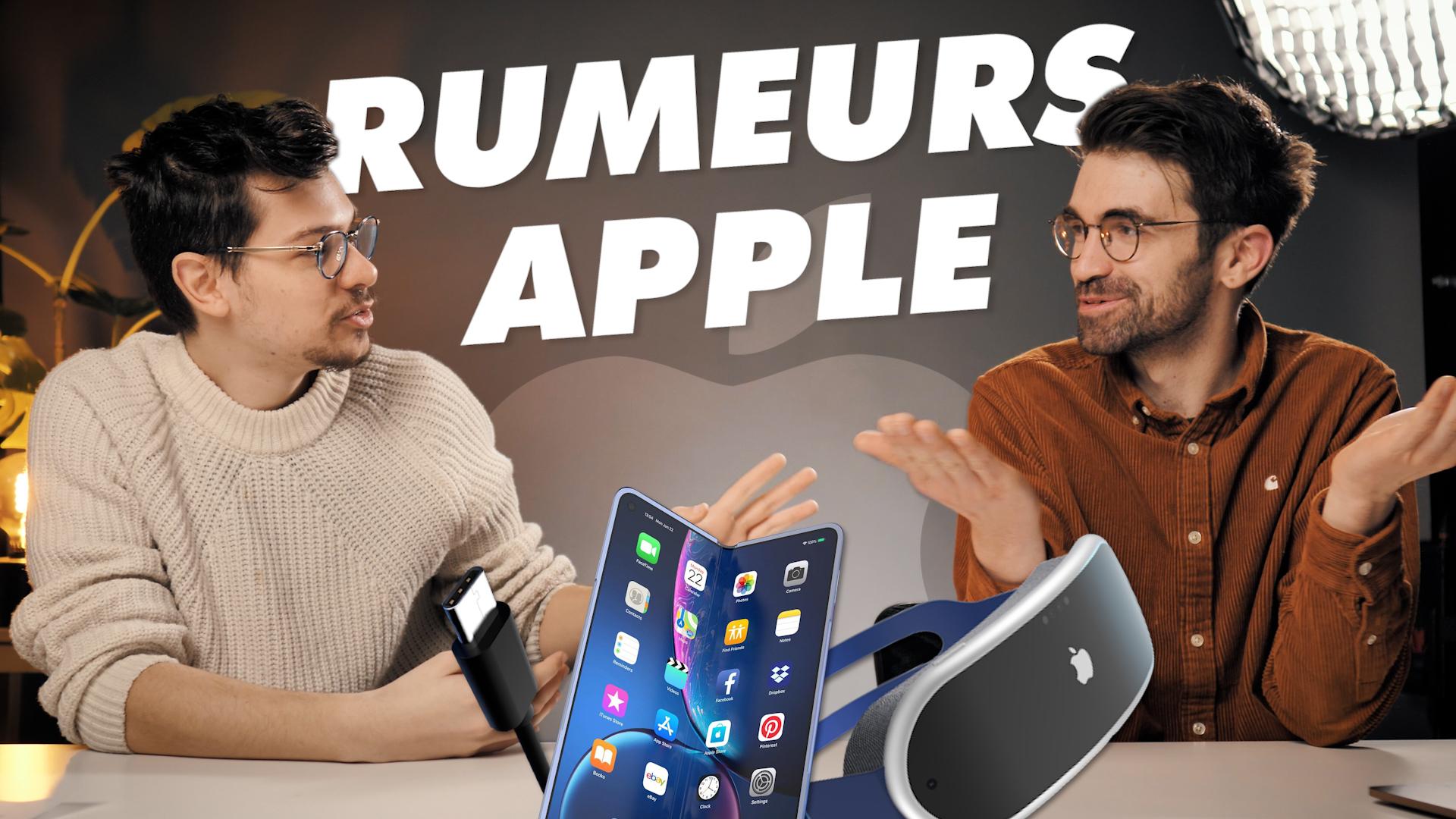 Le futur d'Apple en 5 RUMEURS (feat. Léo Duff)