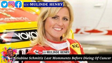 Sabine Schmitz Last Moments Before Dieing Of Cancer, Try Not To Cry