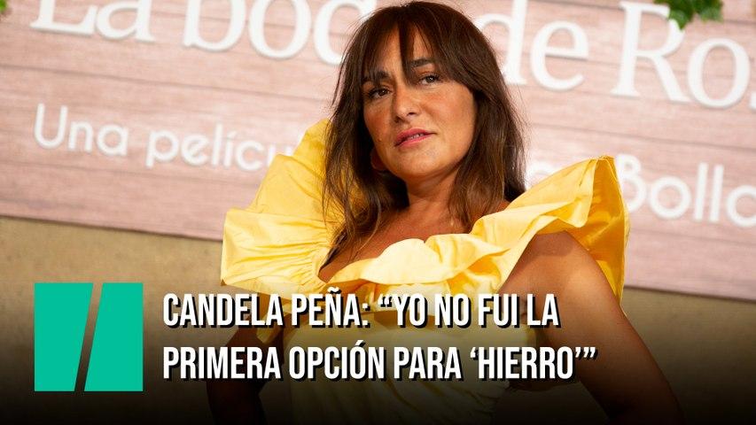 """""""Yo no fui la  primera opción para 'Hierro'"""" Candela Peña en '¿Y tú qué miras?'"""