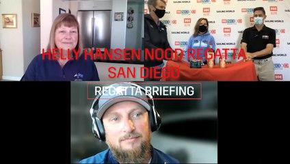2021 Helly Hansen NOOD Regatta San Diego Regatta Briefing