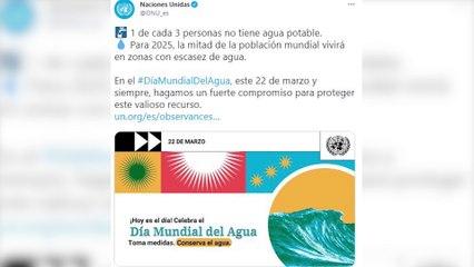 Hoy se celebra el Día Mundial del Agua con el lema 'Valoremos el agua'