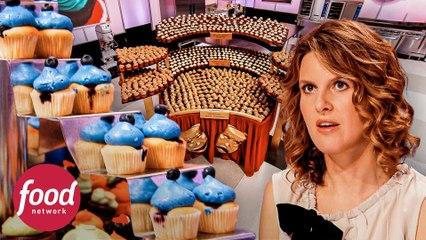 Cupcakes que celebran al cine y sus protagonistas | Cupcake Wars | Food Network Latinoamérica