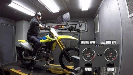 2021 Suzuki RM-Z250 Dyno Test