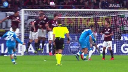 Tổng hợp bàn thắng của Lorenzo Insigne vào lưới AC Milan