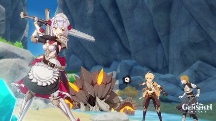 Genshin Impact: Noelle - Con Đường Tập Luyện Kỵ Sĩ (Màn 1)
