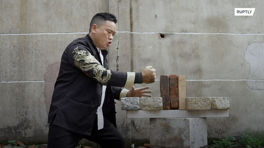Nailed it! Kung Fu master's Iron Fist doubles as hammer