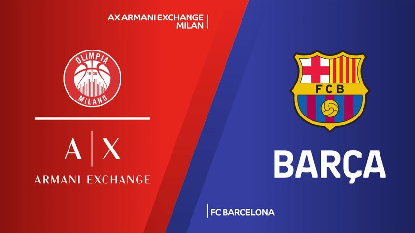 AX Armani Exchange Milan - FC Barcelona Highlights | Turkish Airlines EuroLeague, RS Round 30