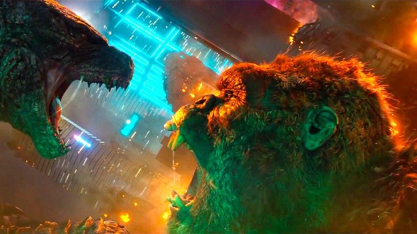 "Godzilla vs. Kong with Alexander Skarsgård and Millie Bobby Brown – Official ""Salvation"" Trailer"