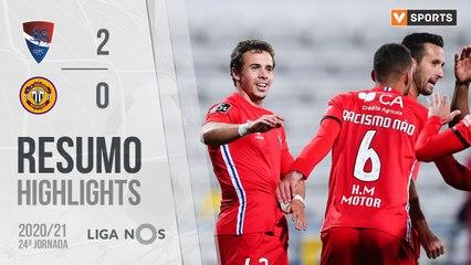 Highlights: Gil Vicente 2-0 CD Nacional (Liga 20/21 #24)