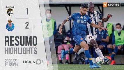 Highlights: Portimonense 1-2 FC Porto (Liga 20/21 #24)