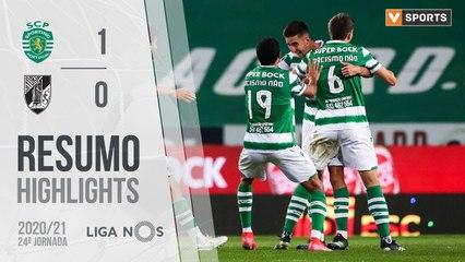 Highlights: Sporting 1-0 Vitória SC (Liga 20/21 #24)