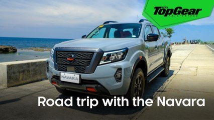 Going on a road trip to Laoag with the 2021 Nissan Navara