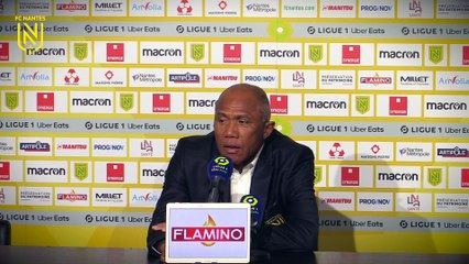 Antoine Kombouaré après FC Nantes - FC Lorient