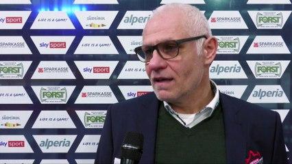 Peter Draisaitl nach der Niederlage in Bozen