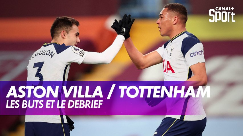 Les buts de Aston Villa / Tottenham - Premier League J18