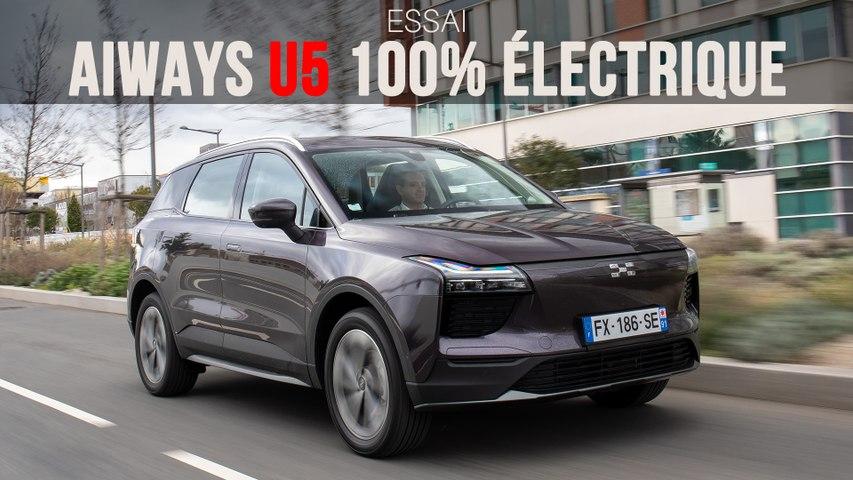 Essai Aiways U5 100% électrique (2021)