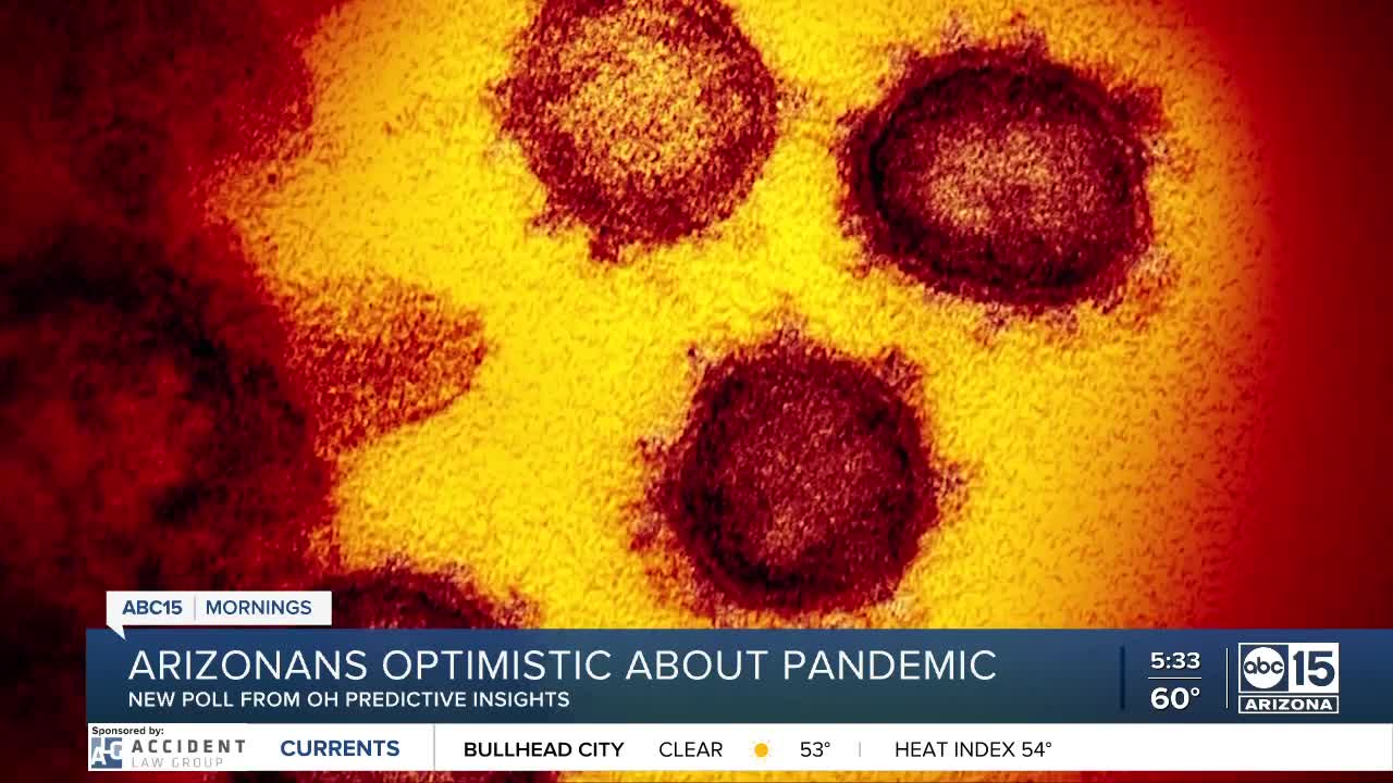 Arizonans optimistic about the pandemic