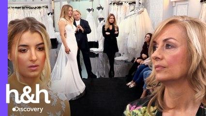 Mãe da noiva não aprova nenhum vestido! | O Vestido Ideal: Reino Unido | Discovery H&H Brasil