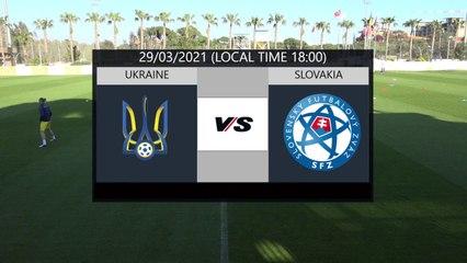 RELIVE: enda TOUR Antalya Cup 2021: UKR U21 vs SVK U21 + Trophy Ceremony