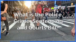 Protest - What is the Police, Crime, Sentencing and Courts Bill?