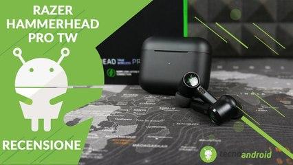 RECENSIONE Razer Hammerhead Pro TW: le True Wireless dal sound perfetto