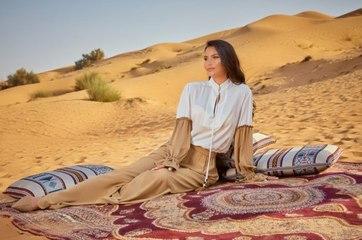 MaxMara أناقة لا مثيل لها وسط الصحراء العربية مع