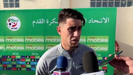 Khacef : « Etre appelé en sélection est une fierté »