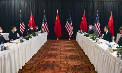 'Deep concerns': US and China trade criticisms at Alaska meeting