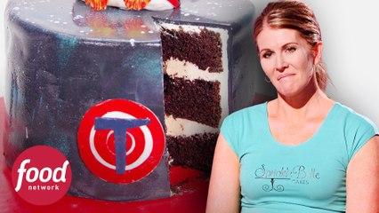 ¡Increíbles pasteles de Space Jam! | Guerra de Pasteles | Food Network Latinoamérica