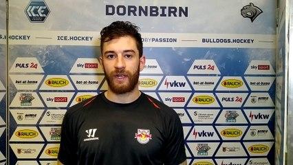 Florian Baltram nach dem Sieg in Dornbirn