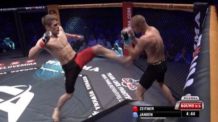 Adrian Zeitner vs Dustin Stoltzfus - BOXE FRANÇAISE