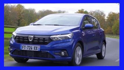 Nouvelle Dacia Sandero - Son écran sort de votre poche