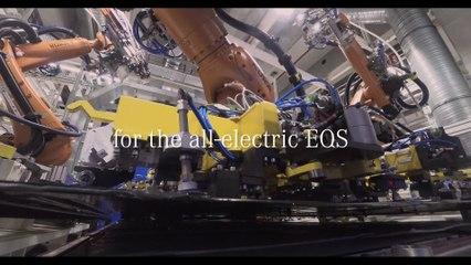 Mercedes-EQ lance la production de systèmes de batterie pour le nouvel EQS