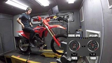 2021 Honda CRF450RX Dyno