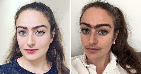 Elle ne s'épile plus les sourcils et la moustache pour reprendre le contrôle de son corps
