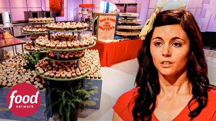 Exhibiciones de mil cupcakes que son una obra de arte | Cupcake Wars | Food Network Latinoamérica