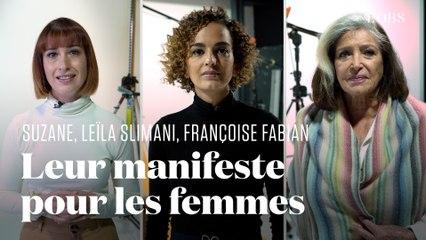 Comment Leïla Slimani, Suzane et Françoise Fabian veulent défendre les femmes 50 ans après le manifeste des 343