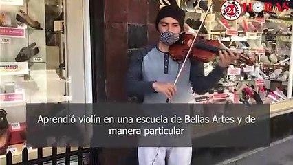 Violinista del Centro Histórico