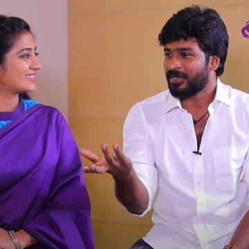 _எனக்கு Romance பண்ணவே வரல_! _ Idhyathai Thirudathae Serial Sahana and Shiva Interview