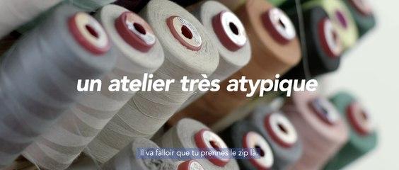 La marque Kaporal travaille avec 13 Atipik, un atelier de confection et de réinsertion made in Marseille agréé par l'état