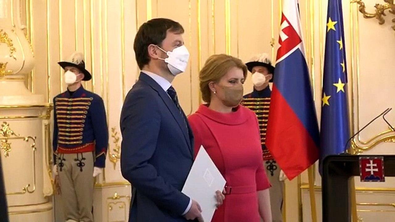 ZÁZNAM: Demisie ministrov I. Korčoka a B. Gröhlinga