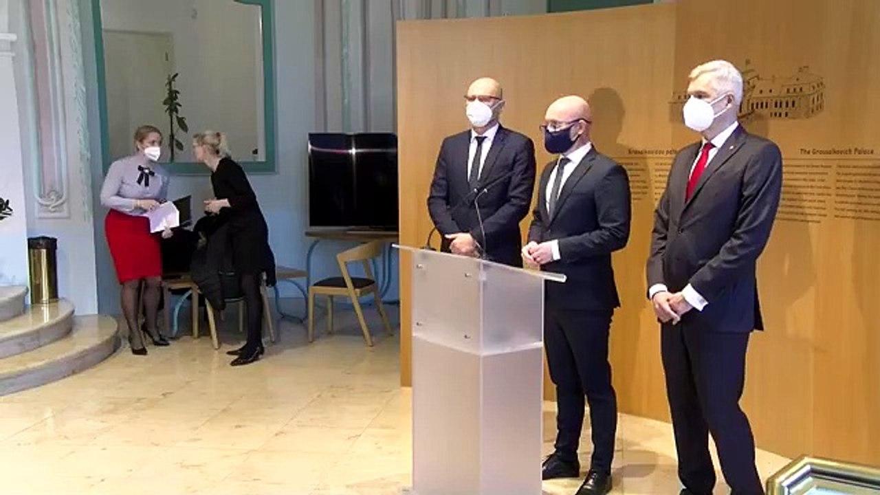 ZÁZNAM: Brífing R. Sulíka, I. Korčoka a B. Gröhlinga