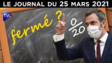 Covid : le zéro pointé de Véran - JT du jeudi 25 mars 2021