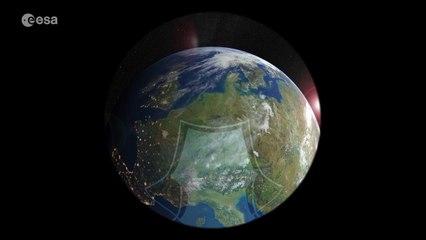 Un satélite que estudia el agua vale también para el clima espacial