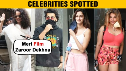 Kangana Requests Media To Watch Thalaivi, Preity Zinta Meets Salman, Katrina, Rakhi & Stars Spotted
