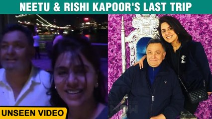 Neetu Kapoor Shares UNSEEN Clip Of Rishi Kapoor's Last Trip To New York