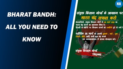 Bharat Bandh: All you need to know