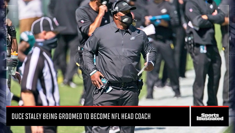 Duce Staley Being Groomed to Become NFL Head Coach