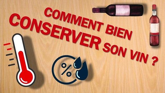 Comment bien conserver son vin ?